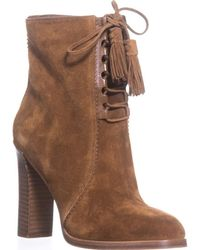 Michael Kors - Collection Odile Lace Up Booties - Lyst