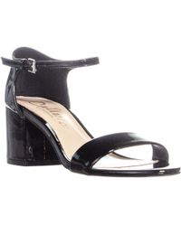 f4f6e810c4257 Lyst - Callisto Danna Slide Sandals in Black