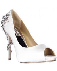 Badgley Mischka - Royal Peep-toe Dress Heels - Lyst