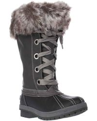 London Fog - Melton Cold Weather Waterproof Snow Boots - Lyst