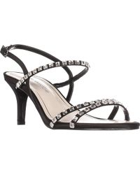 Caparros - Christine Rhinestone Strappy Sandals - Lyst