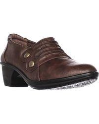 Easy Street - Edison Low Bootie Loafers - Lyst