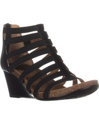 Söfft - Mati Comfort Wedge Sandals - Lyst