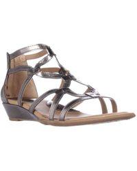 Born - B.o.c. Concept Pawel Low Wedge Gladiator Sandals - Lyst