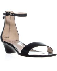 Cole Haan - Adderly Wedge Ankle Strap Sandals - Lyst