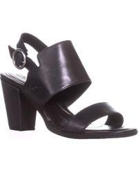 Born - Cindie Block Heel Ankle Strap Sandals - Lyst