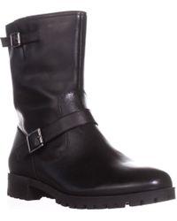 Tahari - Daria Lug Sole Combat Boots - Lyst