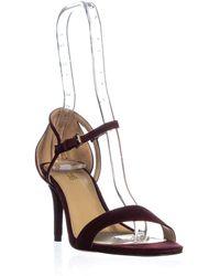 Michael Kors - Michael Simone Mid Sandal Ankle Strap Sandals - Lyst