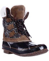 Khombu - Jenna Fleece Lined Mid Calf Winter Boots - Lyst