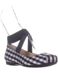 Jessica Simpson - Mandalaye Ankle Strap Ballet Flats - Lyst