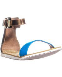 Chinese Laundry - Laguna Neoprene Gladiator Sandals - Lyst