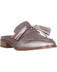 Aquatalia - Stella Slip On Tassle Loafers - Lyst