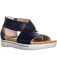 Adrienne Vittadini - Claud Flat Comfrot Sandals - Lyst