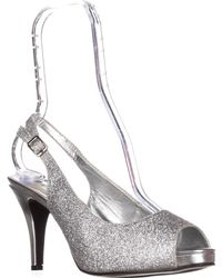 Rampage - Fasher Peep Toe Slingback Court Shoes - Lyst