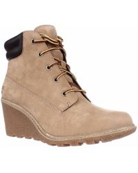Timberland - Earthkeepers Amston Wedge Ankle Boots - Lyst