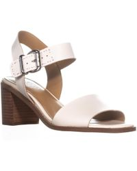 8bf157cbc09e Lyst - G by Guess Women S Havana Platform Wedge Sandals in White