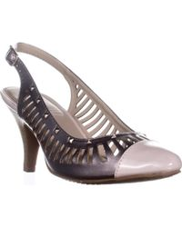Rialto - Martina Cutout Slingback Court Shoes - Lyst
