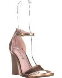 Madden Girl - Willoow Wedge Ankle Strap Sandals - Lyst