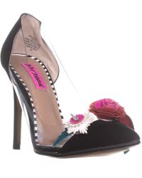 Betsey Johnson - Jade Pointed Toe Court Shoes - Lyst