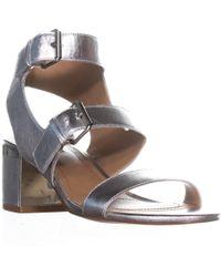 Tahari - Dalton Peep Toe Strappy Sandals - Lyst