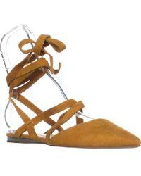 ed51f7aa4ba Lyst - Bcbgeneration Edmund Espadrille Flatform Sandal in Brown