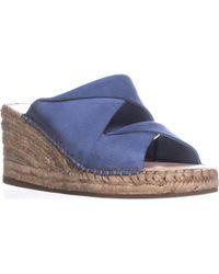Kelsi Dagger Brooklyn - Brooklyn Inwood Espadrille Wedge Sandals, Denim - Lyst