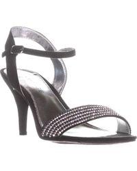 Rampage - Fayrah Rhinestone Ankle Strap Sandals - Lyst