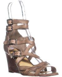 Frye - Rain Strappy Wedge Gladiator Sandals - Lyst