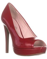 Chinese Laundry - Haley Peep Toe Pumps - Lyst