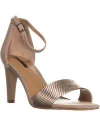 Tahari - Novel Ankle Strap Dress Sandals - Lyst