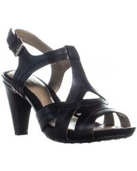 Easy Spirit - Ketzia Peep Toe Strappy Sandals - Lyst