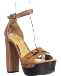 Jessica Simpson - Cosimo Ankle-strap Platform Sandals - Lyst