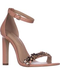 a91086678433 Lyst - ALDO Milaa Leather Sandals in Pink