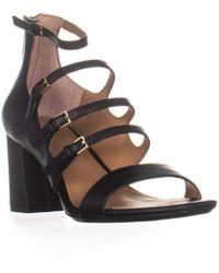 Calvin Klein - Caz Strappy Heeled Sandals - Lyst