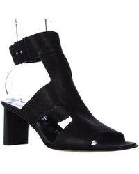 Kalliste - Kalliste 5954 Ankle Strap Square Toe Sandals - Lyst