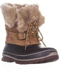 Khombu - Brooke Mid Calf Winter Boots - Lyst