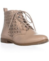 Lucky Brand - Hirro Perforated Block Heel Oxfords - Lyst