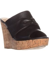 Guess - Hotlove Wedge Mule Sandals - Lyst