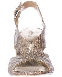Michael Kors - Michael Becky Cross Strap Dress Sandals - Lyst