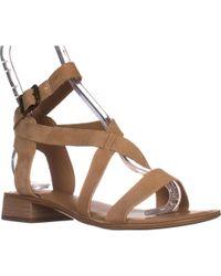 Franco Sarto - Alora Flat Cross Strap Sandals - Lyst