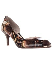 Tahari - Jessie Peep Toe Court Shoes - Butterfly Print - Lyst