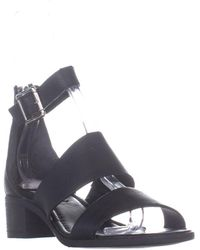 bbf09f3659c Lyst - Steve Madden Rande Women Us 5.5 Black Sandals in Black