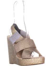 Lucky Brand - Rishi Slingback Wedge Sandals - Lyst
