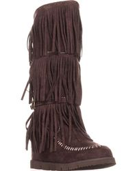Mojo Moxy - Dolce By Crossbow Slouch Boots - Lyst
