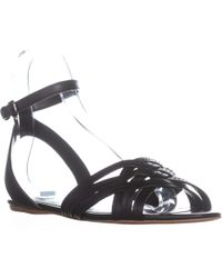 045248763899 COACH - Summers Ankle Strap Slide Sandals - Lyst