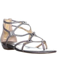 4d9ec61ac8e6 Ivanka Trump - Kalia Flat Strappy Sandals - Lyst