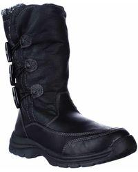 Weatherproof Milo Winter Snow Boots - Black