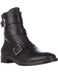 Ivanka Trump - Coris Combat Mid Calf Boots - Lyst