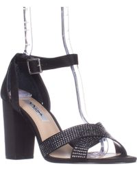 a3f8a9f403b0 TOPSHOP Shelly Cut-out Back Platforms in Natural - Lyst