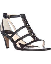 Isola - Mairi Jewelled T-strap Dress Sandals - Lyst